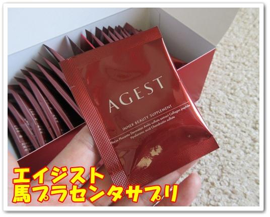 肌のハリを取り戻す サプリメント 馬プラセンタサプリ agest エイジスト