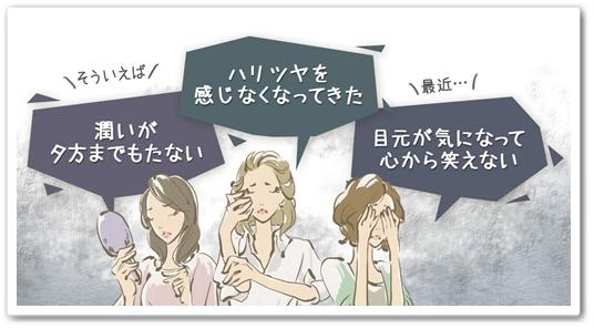 ハリハリミチル 口コミ 肌にハリが出る化粧品 はりはりみちる 効果 小じわ たるみ 悩み