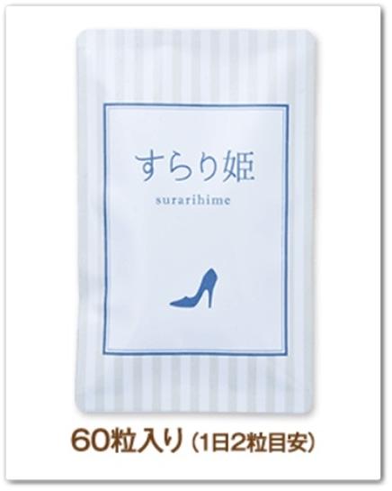 すらり姫 口コミ 足のむくみケアサプリメント すらりひめ 効果 通販 最安値 楽天 公式 あしやせサプリ パッケージ